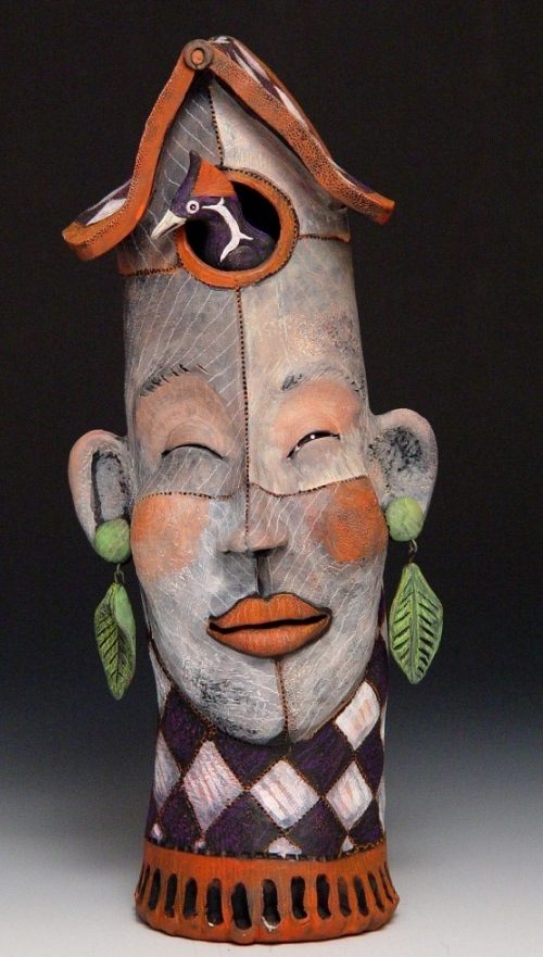 Victoria Sexton Clay Sculpture Art Kaleidoscope