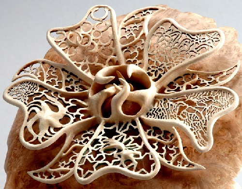 Joey Richardson delicate wood carving