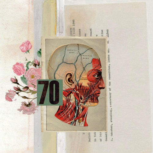 Digital collage by American conceptual artist Robert Alan
