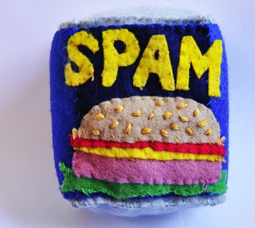 Felt Cornershop installation where everything is made completely out of FELT by British textiles artist Lucy Sparrow