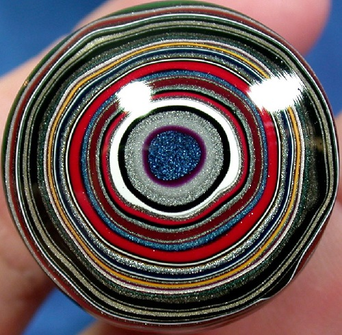 Fordite, also known as Detroit agate, or Motor Agate