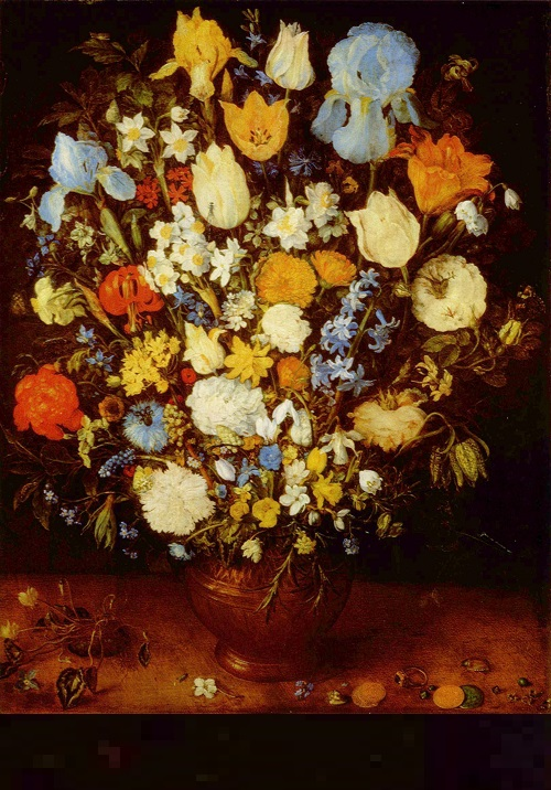 Jan Brueghel the Elder (1568–1625), Bouquet (1599)