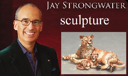 Jay Strongwater Jewelry sculpture