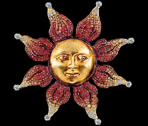 Jewellery Theatre Moscow. Sun inspired jewellery