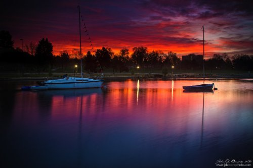 Marina Memories. American nature photographer John De Bord
