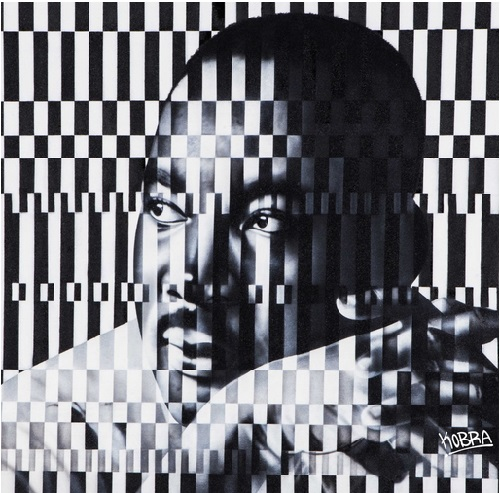Martin Luther King, Jr. Street mural by Brazilian artist Eduardo Kobra