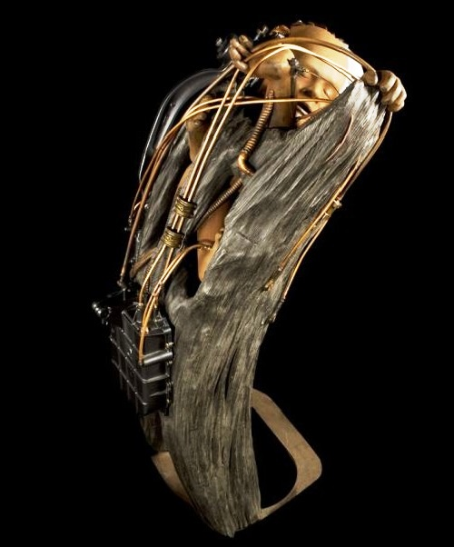 Matrice. Steampunk Sculpture by Pierre Matter
