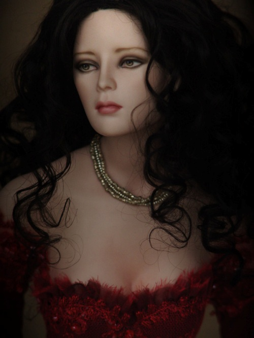 Mira. Art Doll by Tom Francirek and Andre Oliveira