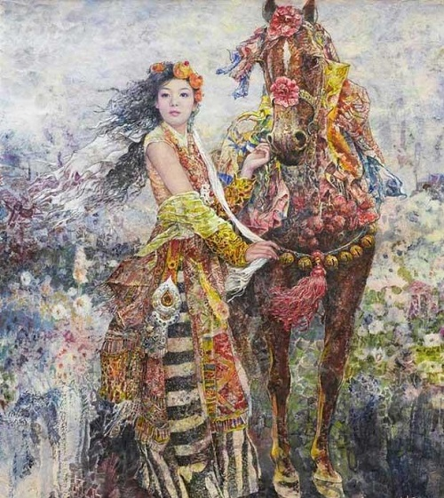 Chinese painter Chen Chong Ping