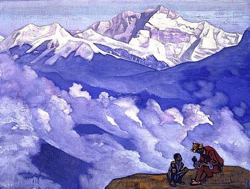 Pearl of Searching. Russian painter Nicholas Roerich