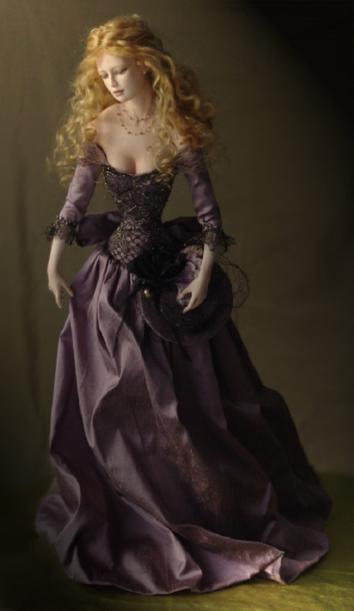 Pia, from Art dolls by Tom Francirek & Andre Oliveira