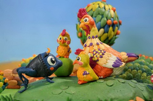 Plasticine characters of Armenian tales by Levon Abramyan