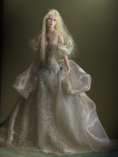 Porcelain Art Doll by Tom Francirek and Andre Oliveira