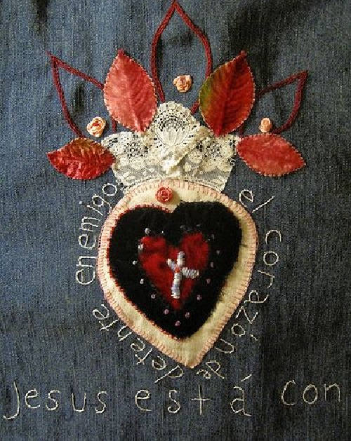 Sacred Heart art in Mexico
