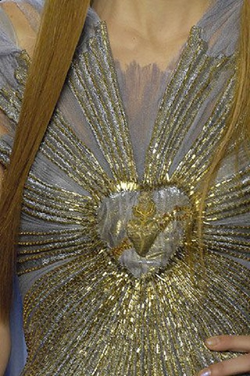 Sacred Heart in Jean Paul Gaultier Haute Couture Spring 2007