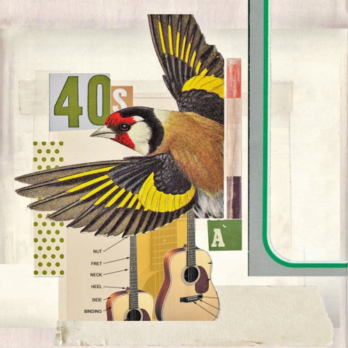 Songbird. Digital collages by Robert Alan