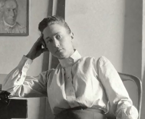 Swedish abstract painter Hilma af Klint