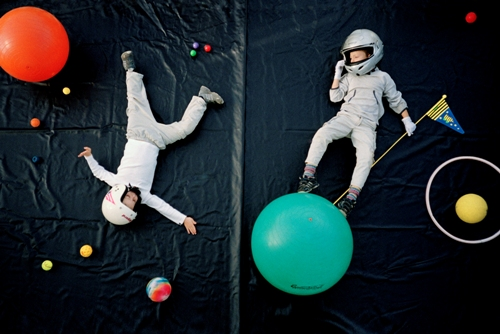 The Astronauts. Dreams of Flying, Photography art by German photo artist Jan von Holleben