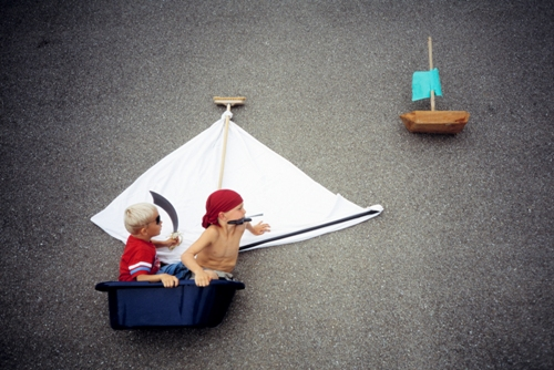 The Pirates. Dreams of Flying, Photoart by Jan von Holleben