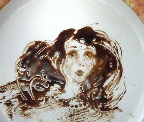 Chocolate art by Brazilian artist Victor Nunes