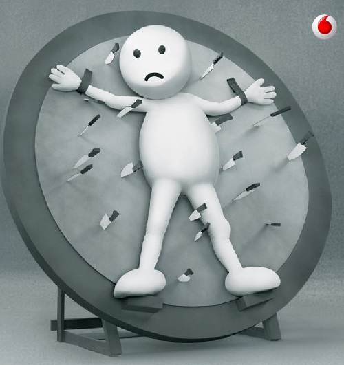 Vodafone advertisement characters ZooZoos