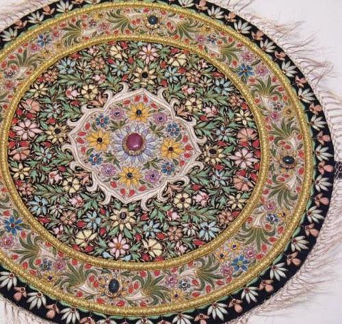 Zardozi embroidery