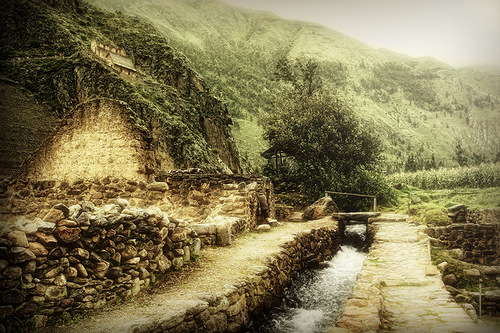 A Stream Runs Through It in Peru. Stuart Deacon photoart