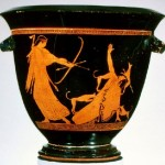 Actaeon and Artemis. Approx. 480-460 BC
