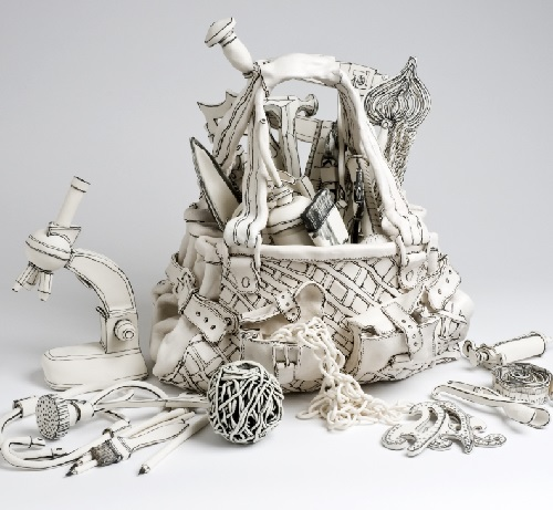 Ceramic sculpture by British artist Katharine Morling