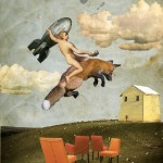 Painting and collage art by Igor Skaletsky
