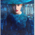 Painting by Richard Burlet