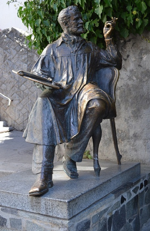 Monuments to artists. Monument to the artist Korovin, Russia