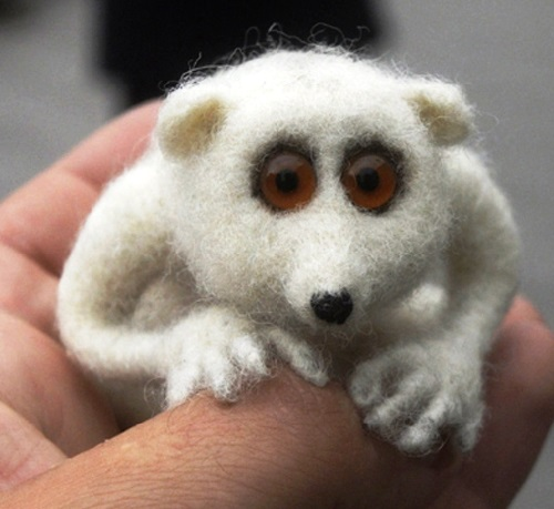 Victor Dubrovsky felted animals