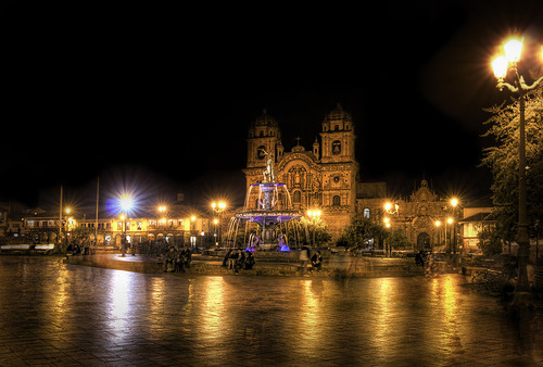 Old Town Cusco in Peru. Stuart Deacon photoart