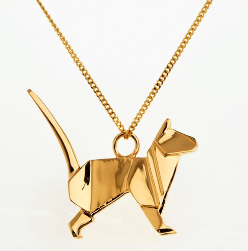 Origami animals jewelry