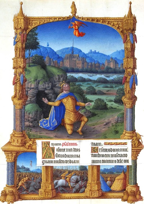 Page 100. Magnificent Book of Hours of Duc de Berry