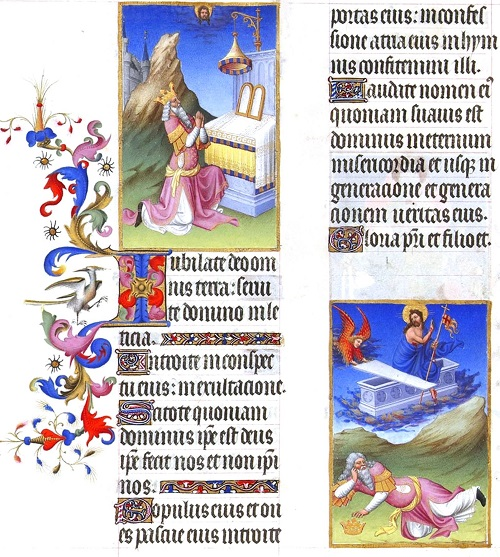Page 39. Magnificent Book of Hours of Duc de Berry