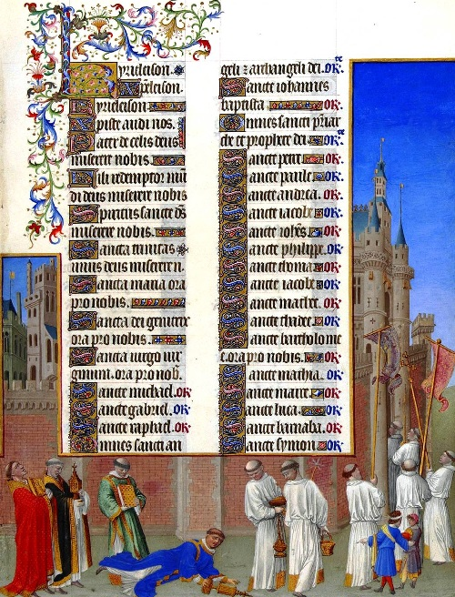 Page 72. Magnificent Book of Hours of Duc de Berry