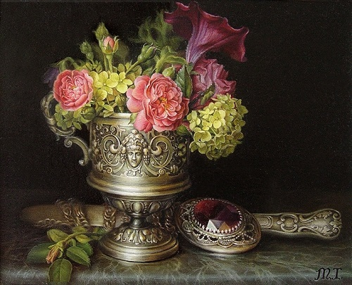 Still life painting by Maria Ilieva