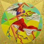 Geometrical painting by Georgy Kurasov
