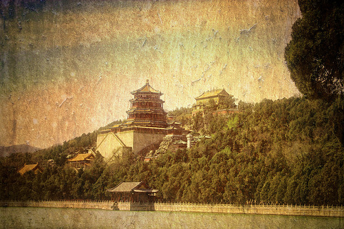 The Summer Palace Beijing. The emperor would spend his summer vacation here. Canadian photo illustrator Stuart Deacon