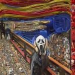 Bernard Pras, in fact used huge quantities and varieties of objects to create his assemblage image