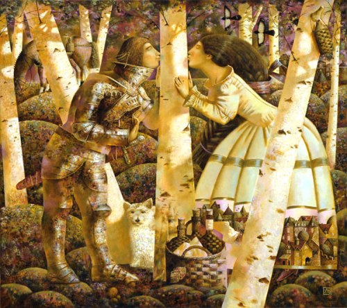 Birch Syrup, 2007. Oil on canvas. Private collection