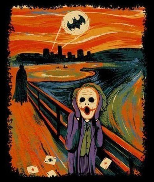 Joker screamer Jack Nicholson