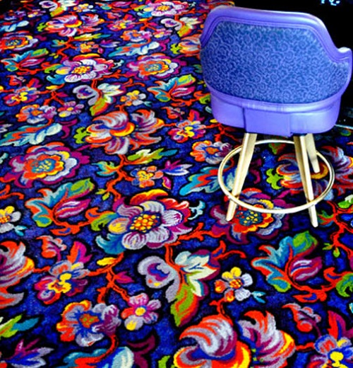 Psychedelic Casino carpets