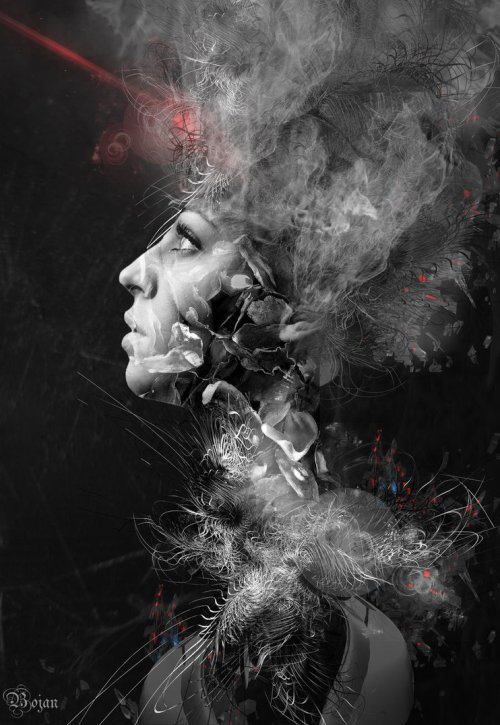 Light Of My Day. Photomanipulation by Serbian digital artist Bojan Jevtic