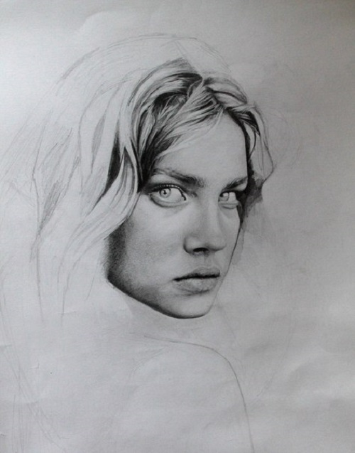 Natalia Vodianova fan art from admirers