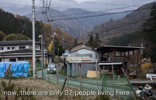 Now there are only 37 people living here