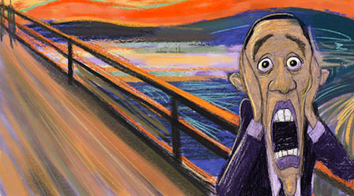 Obama, Scream pop art