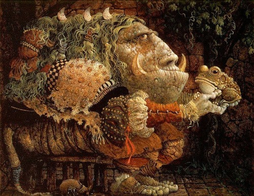 American painter James Christensen